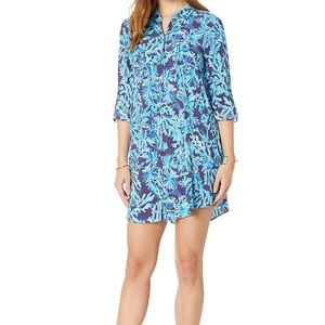 NWT Lilly Pulitzer Natalie cover up in too deep